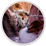 Secret Canyon 1 Round Beach Towel