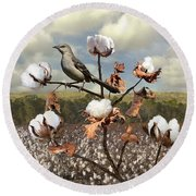 Secret Of The Mockingbird Round Beach Towel