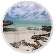 Secret Of West Harbour Round Beach Towel