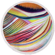 Seed In Good Soil Round Beach Towel