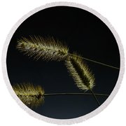Seeds Of Life Round Beach Towel by Christopher L Thomley