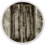 Round Beach Towel featuring the photograph Seeking Sanctuary - 2 by Stephen Stookey