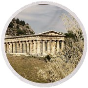 Segesta Round Beach Towel