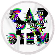 Round Beach Towel featuring the digital art Seize The Day by Bee-Bee Deigner