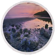Semiahmoo Bay Round Beach Towel