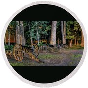 Seminary Ridge Artillery Round Beach Towel