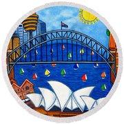 Sensational Sydney Round Beach Towel