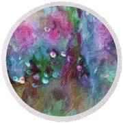 Sensations II  Round Beach Towel by Don Wright