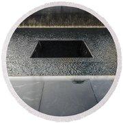 September 11 Memorial 2 Round Beach Towel