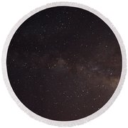 September Galaxy I Round Beach Towel