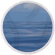 Serene Pacific Round Beach Towel
