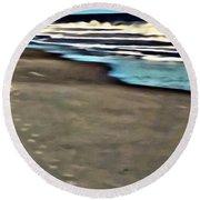 Serenity Walk Round Beach Towel