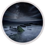 Round Beach Towel featuring the photograph Shades Of Yesterday by Jorge Maia