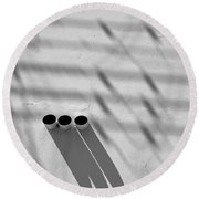 Shadow Notes 2006 1 0f 1 Round Beach Towel