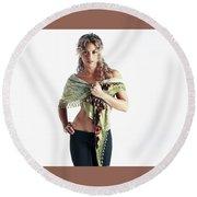 Shakira 32 Round Beach Towel
