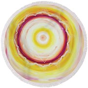 Shakti Round Beach Towel
