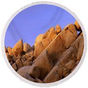 Shapes Round Beach Towel
