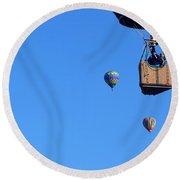 Share The Air Round Beach Towel by John Glass