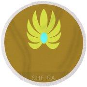 She-ra Princess Of Power My Favorite Tv Shows Series 014 Round Beach Towel