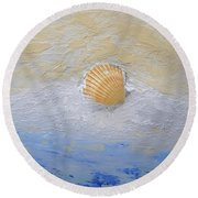Shell Round Beach Towel