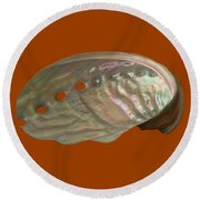 Shell Transparency Round Beach Towel