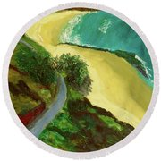 Shelly Beach Round Beach Towel