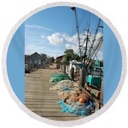 Shelter Island Round Beach Towel
