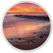 Sheridan Sunrise Round Beach Towel