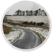 Sheriffmuir Road Round Beach Towel