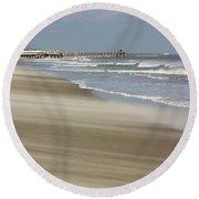 Shifting Sands Round Beach Towel