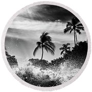 Shorebreak Round Beach Towel