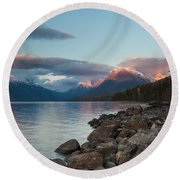 Shoreline Round Beach Towel