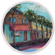Shorelines And Pete's Round Beach Towel