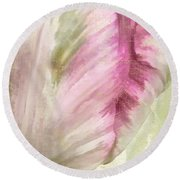 Shy II Round Beach Towel by Mindy Sommers