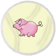 Sid Round Beach Towel