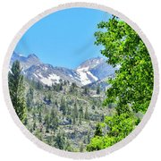 Sierra Summer Round Beach Towel