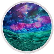 Sierra Vista Round Beach Towel