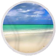 Siesta Key Beach Florida  Round Beach Towel