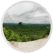 Sigiriya Panorama Round Beach Towel