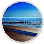 Silent Sylt Round Beach Towel by Hannes Cmarits