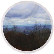 Silers Bald 2015d Round Beach Towel