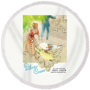 Silver Cross Baby Coach Round Beach Towel