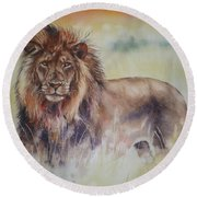 Simba Round Beach Towel