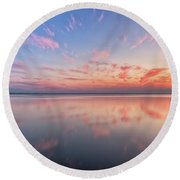 Simple Round Beach Towel