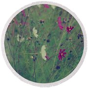 Round Beach Towel featuring the photograph Simple Things by The Art Of Marilyn Ridoutt-Greene