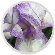 Round Beach Towel featuring the photograph Simply Beautiful by Sherry Hallemeier