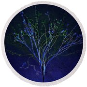 Since Love Grows Within You Round Beach Towel