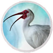 Sing, Sing A Song... Round Beach Towel