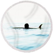 Single Round Beach Towel