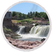 Sioux Falls Round Beach Towel